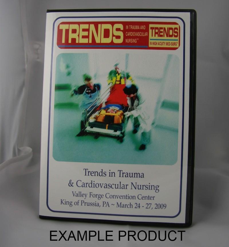 Val 511-0943 Audio CD: Trauma: Limiting Inflammatory Cascades: Holistic Nursing Care of Burn and Trauma Patients