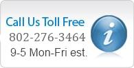Call Us Toll Free 888-673-7732 9-5 Mon-Fri est